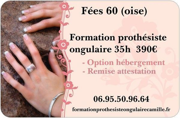 Prothesiste ongulaire formation gratuite